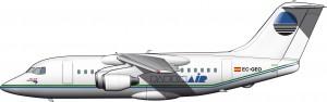BAe 146 de PauknAir (1998)