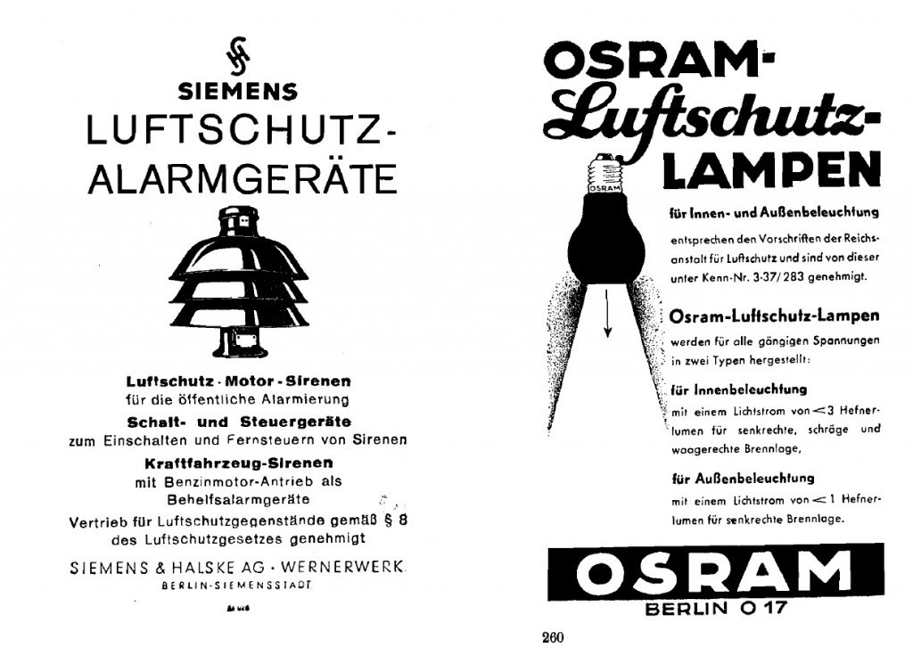 Cultura e industria del bombardeo aéreo en Alemania