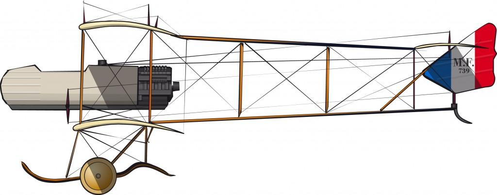 Maurice Farman MF.7 – Aviación del ejército francés