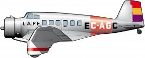 Northrop Delta: un avión para Juan Negrín