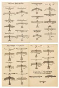 Biplans, monoplans, dirigeables allemands
