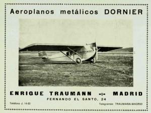 Aeroplanos metálicos Dornier