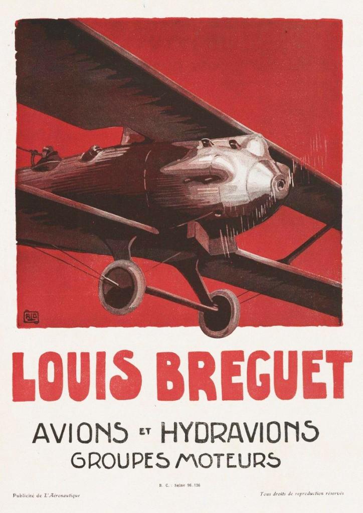 Louis Breguet – Avions et Hydravions – Groupes moteurs