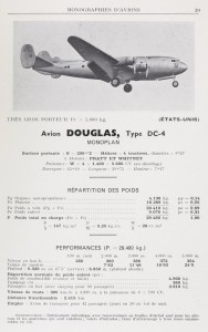 Avion Douglas, Type DC-4