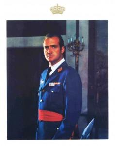 El Ejército del Aire acepta al rey Juan Carlos como sucesor del general Franco