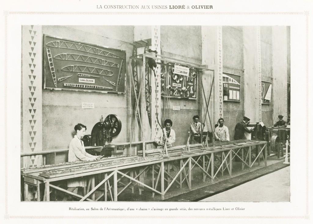 La construction aux usines Lioré & Olivier