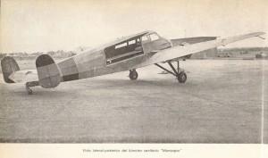 Aviación Sanitaria republicana: el bimotor sanitario Monospar