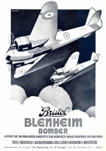 Bristol Blenheim – el bombardero en servicio más rápido del mundo