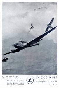 """Focke-Wulf Fw 58 """"Weihe"""""""