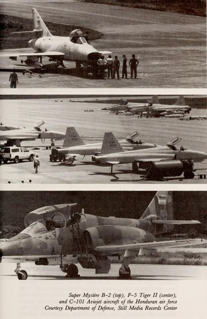 Aviones de la Fuerza Aérea Hondureña