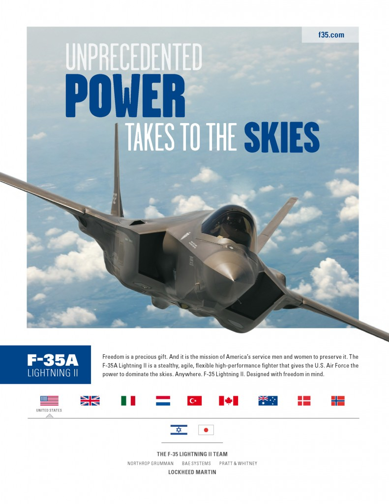 """… gives the U.S. Air Force the power to dominate the skies"""