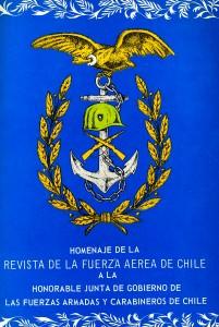 Homenaje de la Revista de la Fuerza Aérea de Chile a la Honorable Junta de Gobierno de las Fuerzas Armadas y Carabineros de Chile