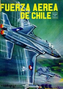 Northrop F-5 de la FACH