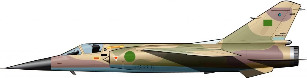 Dassault Mirage F-1 de la FA libia (2011)