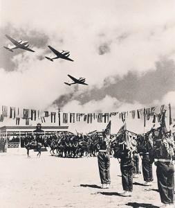 Escuadrón de Doves sobre Amman