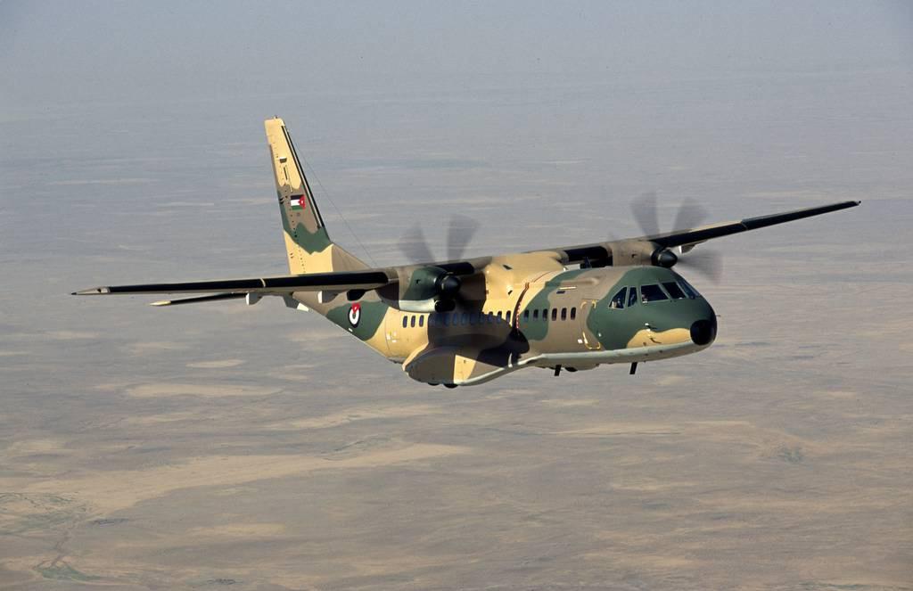 Aviones de transporte de la fuerza aérea de Jordania