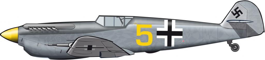 Una versión congelada de la Luftwaffe nazi de 1940 es hallada en España en 1968