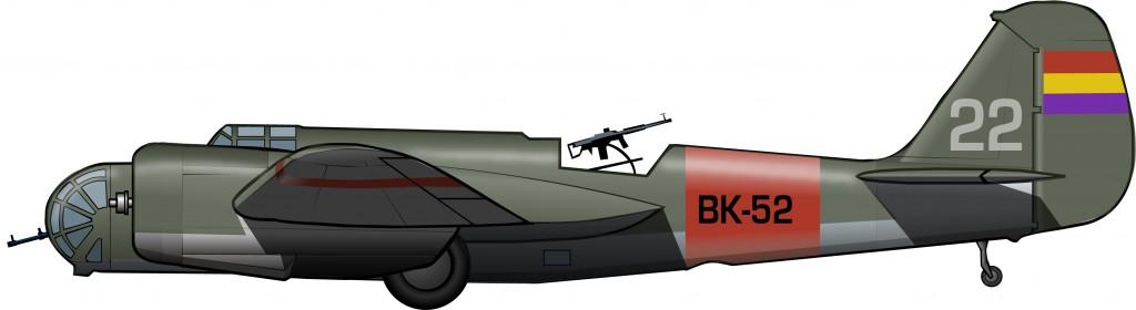 El rápido bombardero republicano