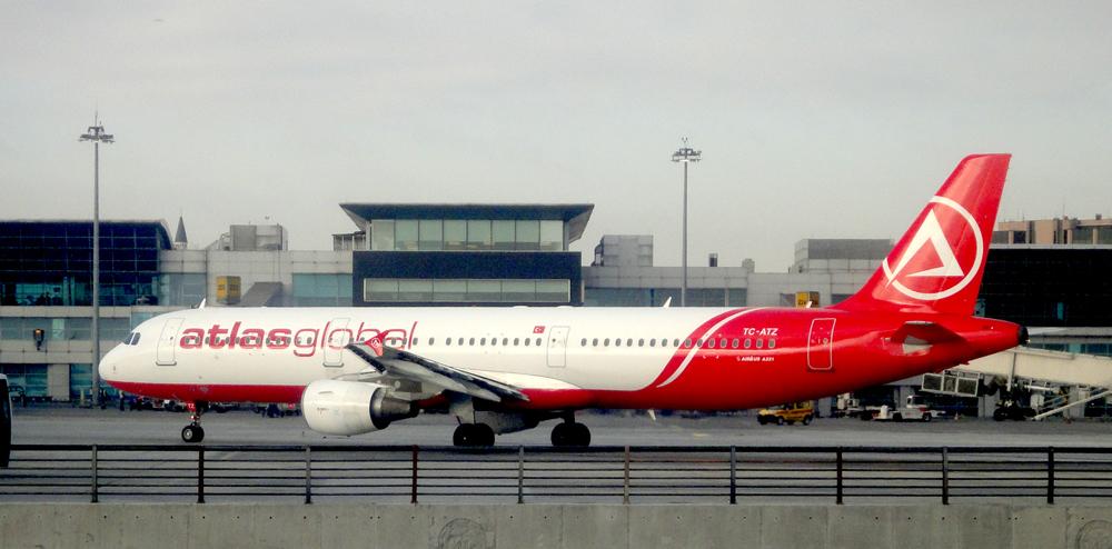 Un A-321 en el aeropuerto de Estambul