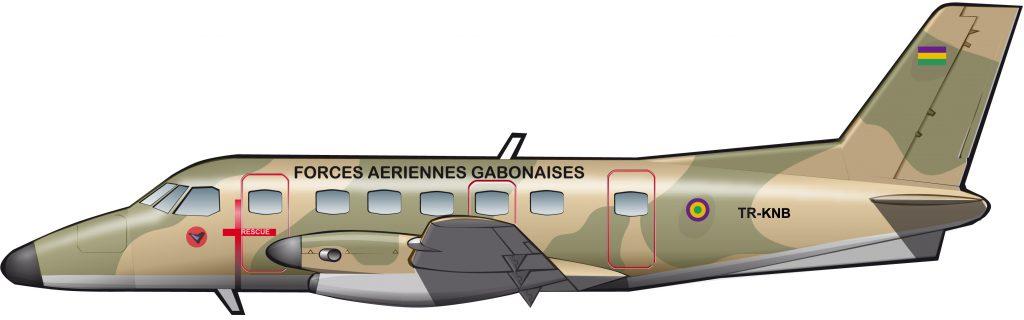 Embraer Bandeirante: primer éxito de la compañía brasileña