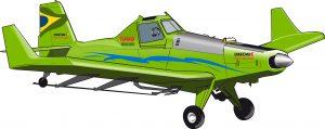 El primer avión del mundo de biocombustible