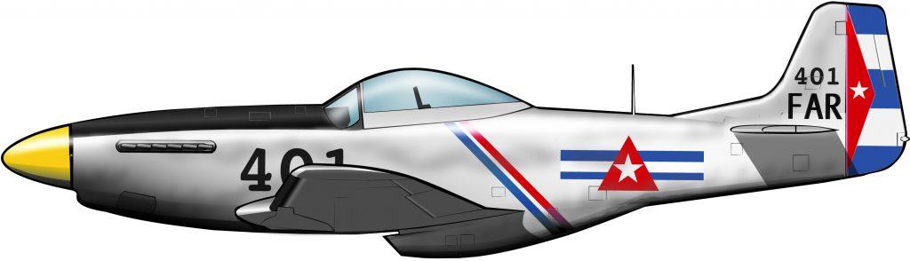 Dos Mustang para la revolución cubana