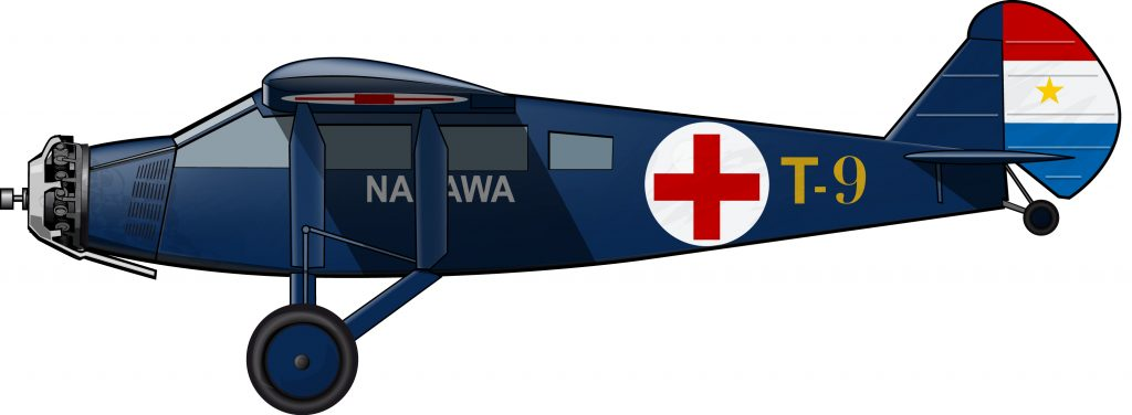 Ambulancia aérea en la guerra del Chaco