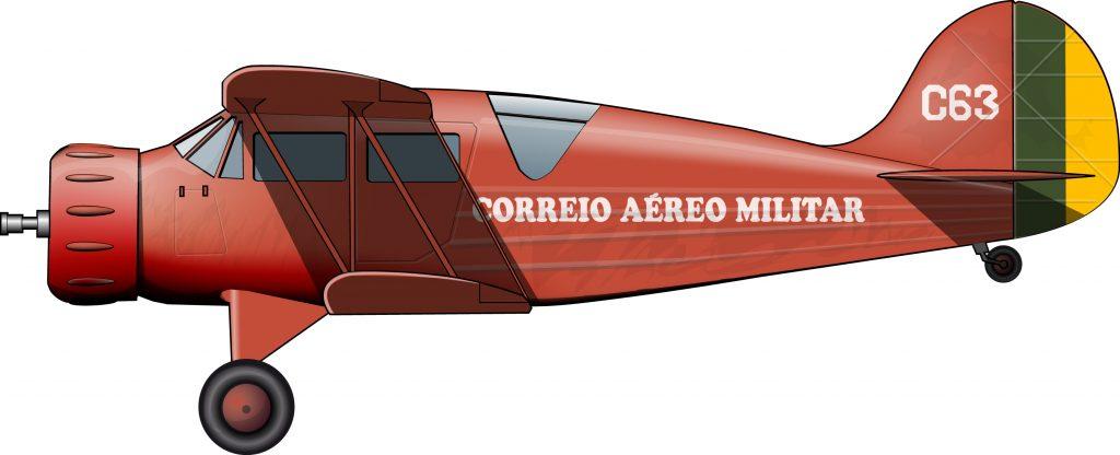 Correo aéreo militar para la inmensidad de Brasil