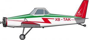 Un avión para la Revolución Verde mexicana
