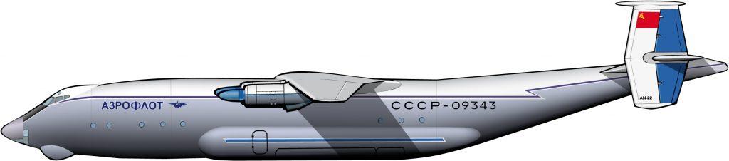 Otro modelo gigante de O.K. Antonov