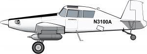 Un avión agrícola reconvertido en anti-inmigrantes sin papeles