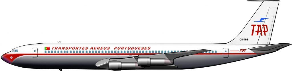 707s para la evacuación colonial de Angola