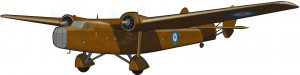 El concepto de avión colonial