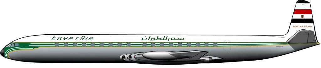 Comet de Egyptair