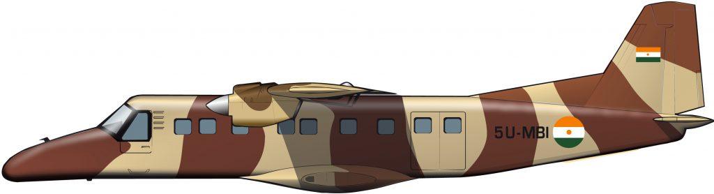 La discreta aviación militar de Níger