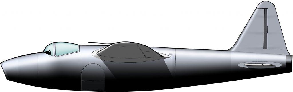 El primer avión jet