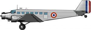 El Ju-52 como bombardero colonial en Madagascar