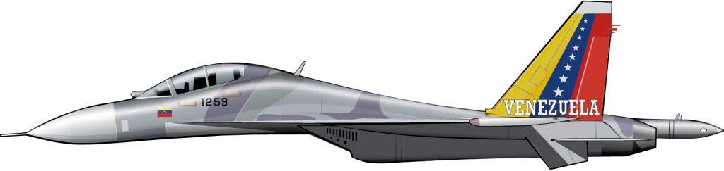 Un caza de cuarta generación para la Aviación Militar Bolivariana
