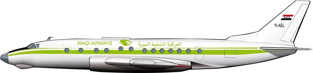 Aviones soviéticos para Iraqui Airways