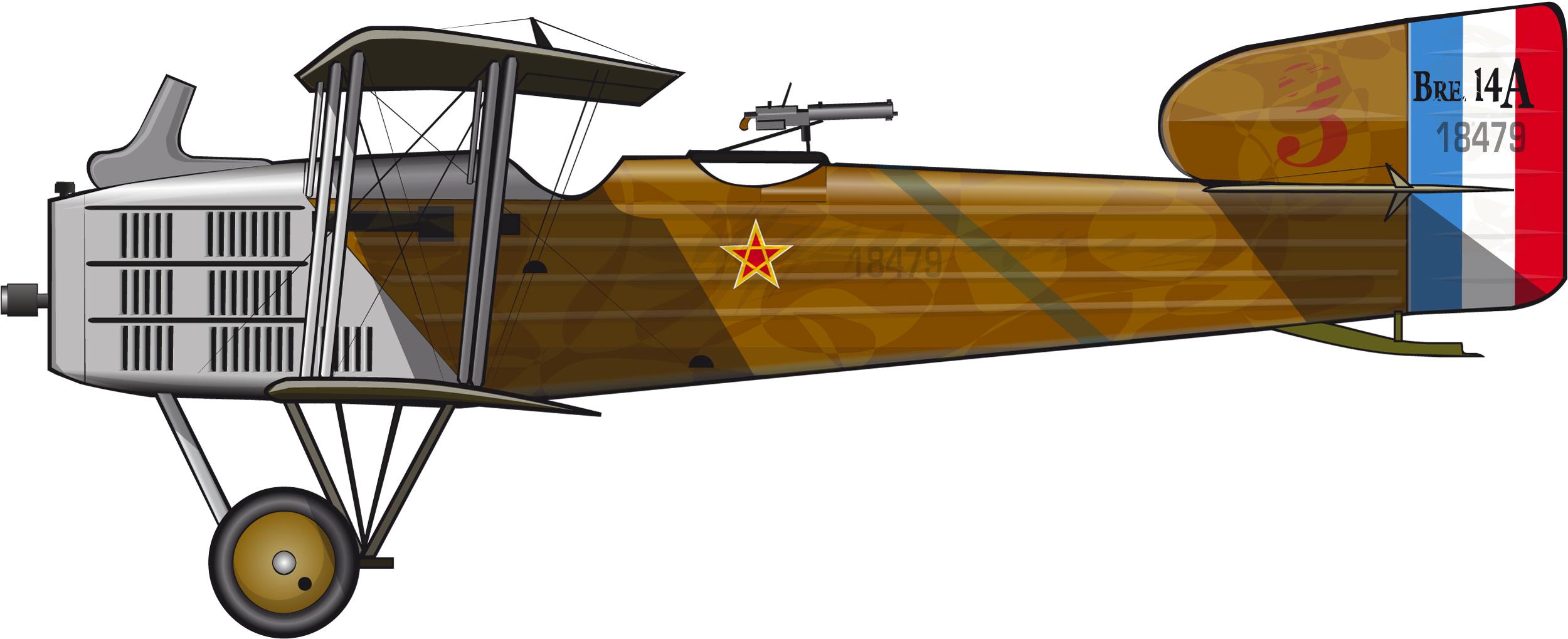 breguet14escadrillecherif1925
