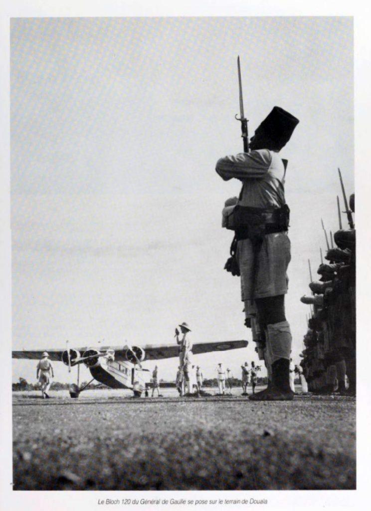 Un Bloch 120 para de Gaulle