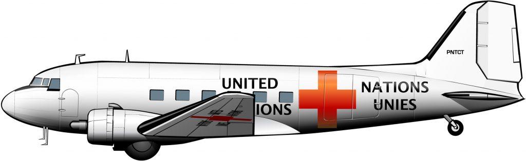 La misión volante de Bernadotte