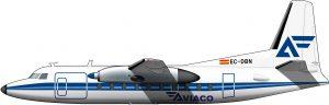 Servicio local: Fokker F-27