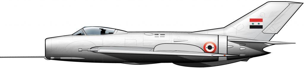 MiG-19 de la UARAF