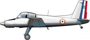 El último diseño francés de avión colonial