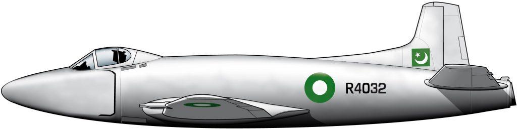 Aviones británicos para la neonata PAF