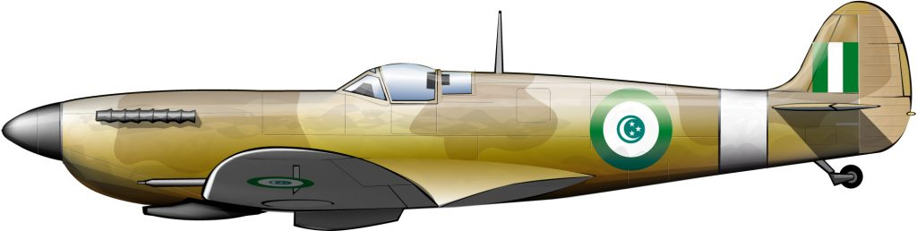 Spitfires para Egipto