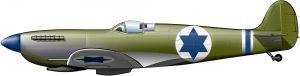 Spitfires para Israel