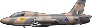 Fabricado en Sudáfrica para la guerra aérea colonial