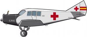 La aviación de la Cruz Roja